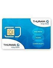 Thuraya Nova Prepaid SIM met 10 Eenheden