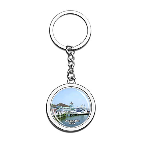Keychain Old Town Waterfront Alexandria United States USA