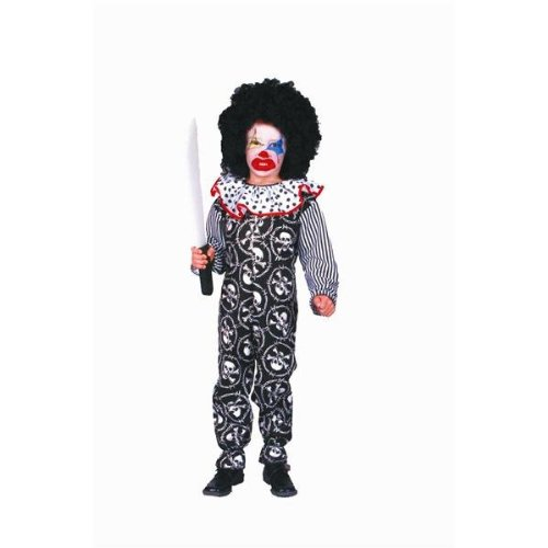 [Scary Clown Child Costume] (Spooky Clown Costumes)
