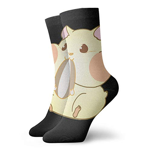 Womens Cute Hamster Dress Colorful Fancy Novelty Funny Casual Crew Socks Pack -