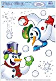 Snowman Window Clings (Pack of 96)