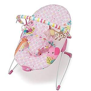 ZLMI Baby Rocking Chaise Smart Music Box Vibration Chaise Berçante Siège Tissu Amovible Et Lavable pour 0-3 Ans Bébé 3