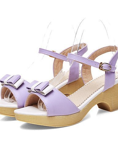 ShangYi Ruomini Womens Shoes Wedge Heel Round Toe Sandals Dress Shoes More Colors available Pink