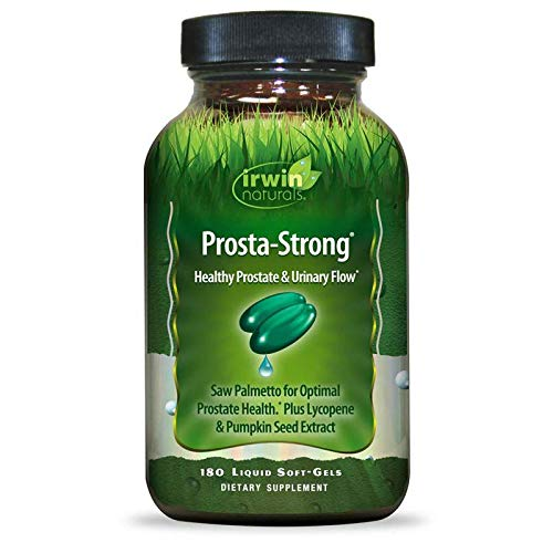 Irwin Naturals Prosta-Strong - Prostate Health Support with Saw Palmetto