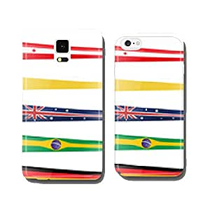 background flag set cell phone cover case iPhone5
