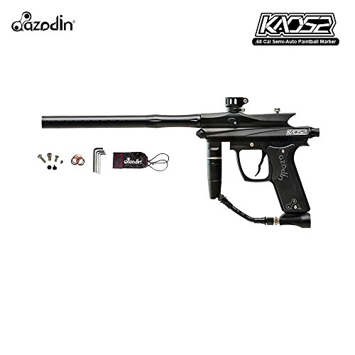 Double Trigger Paintball Guns - Azodin Kaos 2 Paintball Marker (Black)