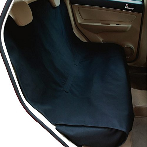 NAC ZAC Waterproof Bench Pet Seat Cover for Cars and SUV with Seat Anchors, Nonslip, Extra Side Flaps, Machine Washable Barrier Dog Seat Cover