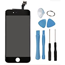 eInc™ LCD Display Touch Screen Digitizer with Supporting Frame Replacement Assembly and Tool Kit for 4.7 Inch iPhone 6 (Black)