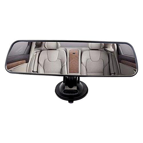 Ocamo Espejo retrovisor Interior de la carlinga del Coche con Ventosa,24.8 * 7cm
