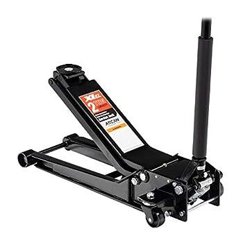 Image of Floor Jacks Arcan 2 Ton Extra Long Reach Low Profile Steel Floor Jack XL2T