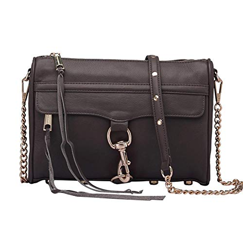 Side Fashion Leather Woman Shoulder Oblique Hongge Cowhide Bag H Small Layer Baotou Lady dAx1P1Xq
