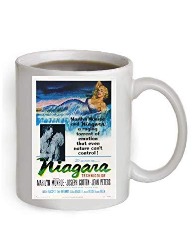 Niagara Movie Poster Coffee Mug By Ariel's Collection #A319 ()
