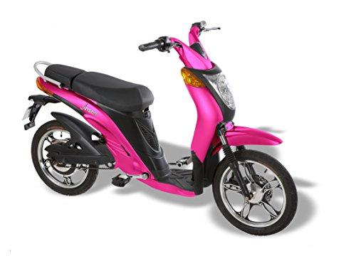 Jetson Lithium Ion Powered Eco-Friendly Electric Bike - Pink