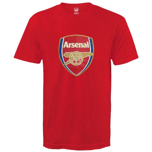 T Football Soccer shirt Crest Mens Official Rosso Delifhtedarsenal Gift Club n4U0wOUgq