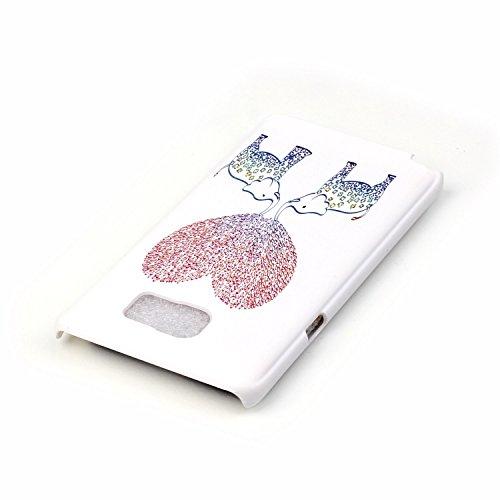 Samsung Galaxy Note 5 Cover ,Samsung Galaxy Note 5 Caso,Bonice Antiurto Shock-Absorption Ultra Sottile PC Hard Back Durable Panda Case + 1x Protezione Dello Schermo Screen Protector Cover , iPhone 5C  model 03