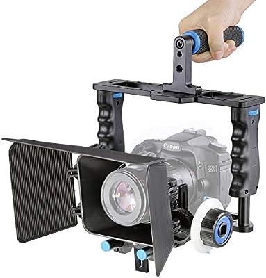 Jaula de vídeo para cámara YLG1103A-B estabilizador de cámara de ...
