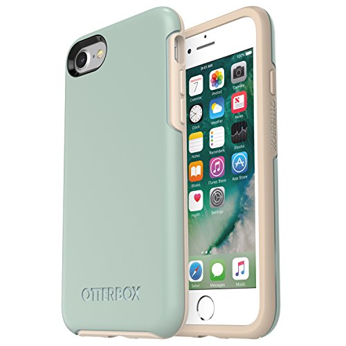 OtterBox Symmetry Series Case for iPhone 8 & iPhone 7 (NOT Plus) - Frustration Free Packaging - Muted Waters (SURF Spray/Silver Lining)