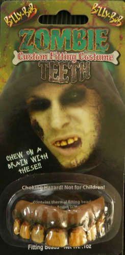 Teeth Billy Bob Zombie (Cave People Costumes)