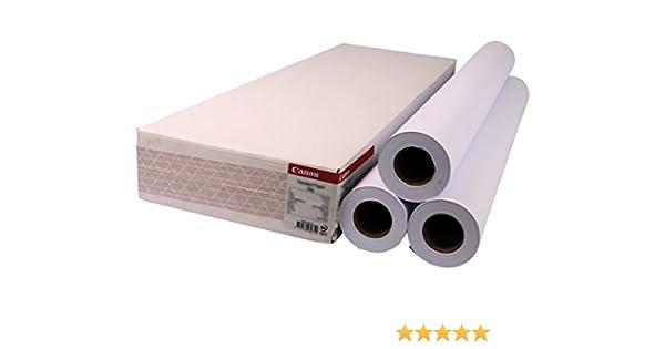 Canon 1569B006 - Papel para plotter (432mm): Amazon.es: Oficina y papelería
