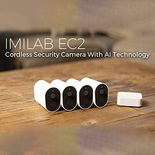Imilab Ec2 Battery Camera 1080p Surveillance Cameras Wlan Ip Camera Outdoor Monitor Rechargeable 4 Months Life Battery Free Cloud Memory Eu Model Baumarkt