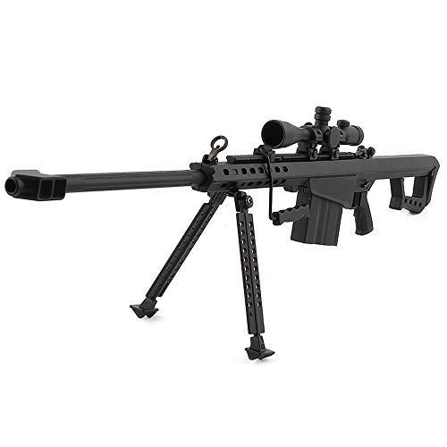 Mini Pew USA 50 Cal .50 Caliber Sniper Scale Model Die-cast Replica Gun Non-Firing (Best 50 Caliber Sniper Rifle)