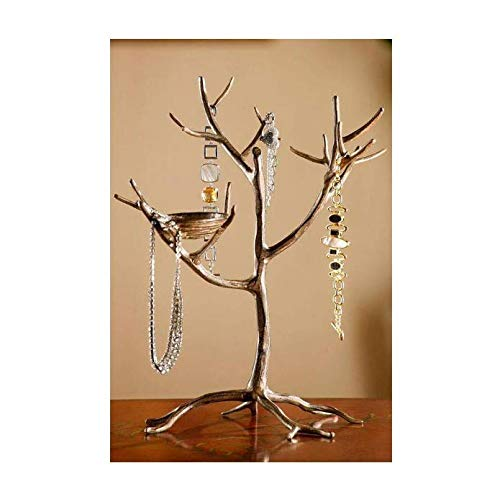 Home Decorators Collection 15 in. Aluminum Jewelry Tree and Nest Stand (Clearance Home Decorators)