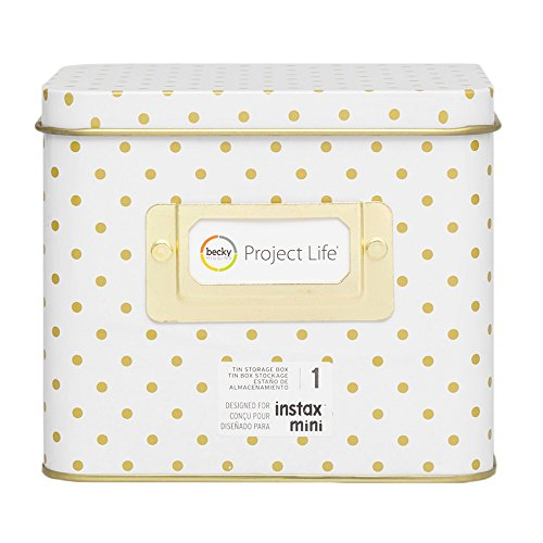 Project Life Miscellaneous Instagram-Storage-Tin-Polka Dot by Project Life