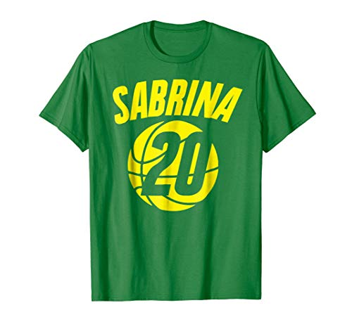 Sabrina basketball t-shirt (Oregon Ducks Jersey Basketball)