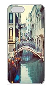 Venetian Bay Polycarbonate Hard Case Cover for iPhone 5/5S Transparent Thanksgiving Day gift