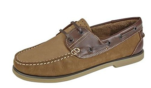 Brown uomo Dek da Tan Marrone 5 Scarpe barca 39 qP6nYB