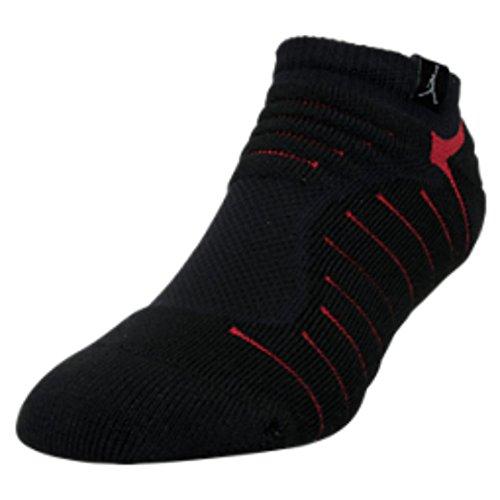 Jordan Flight No-Show Men's Socks Black/White 816272-010