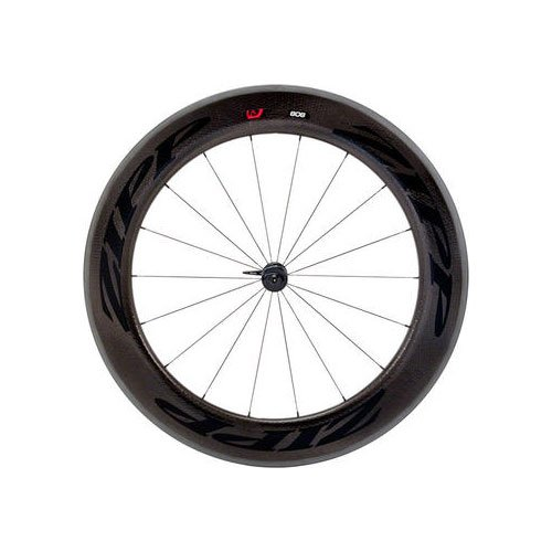 Wheel 808 Zipp Front (Zipp 808 Firecrest Carbon Clincher Road Bike Wheel - Front)