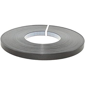 "PVC Black  non glued PVC 7//8/""x100/' Edgebanding"