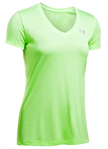 Lime Green V-neck - Under Armour Women's UA Tech¿ Twist V-Neck Quirky Lime X-Small