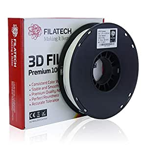 Filatech HIPS Filament, Natural, 1.75mm, 0.5 kg, Made in UAE