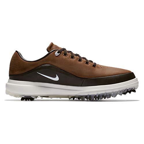 Nike Golf Outlet - Nike Men's Golf Air Zoom Precision Shoes, Light British Tan/Metallic Platinum-Beach, 9 M US