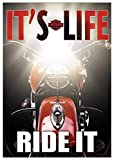 HD Harley-Davidson It's Life, Ride It Garden Flag Review