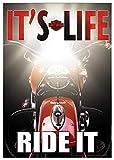 HD Harley-Davidson It's Life, Ride It Garden Flag