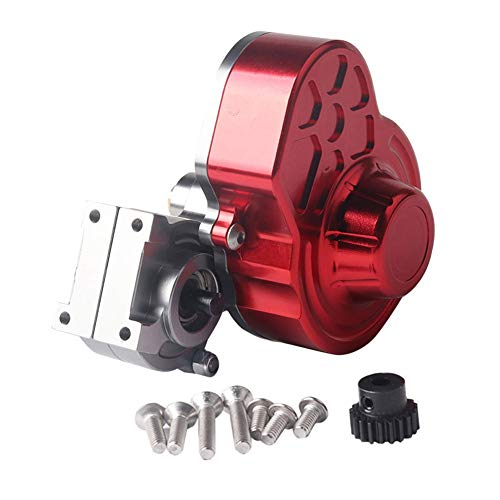 - Aoile 1/10 RC Car Axial SCX10 Transmission Box Full Metal Transmission Gearbox Center Crawler Gear Box Bearing Parts