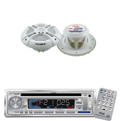 Pyle Marine Receiver Speaker Package