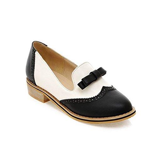 (Professional Women's Shoes, Comfortable Flat Shoes, Casual Sandals(Black 37/6 B(M) US Women) )