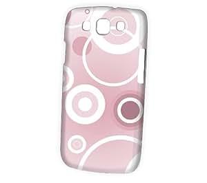 Case Fun Samsung Galaxy S3 (I9300) Case - Vogue Version - 3D Full Wrap - Pink Circles