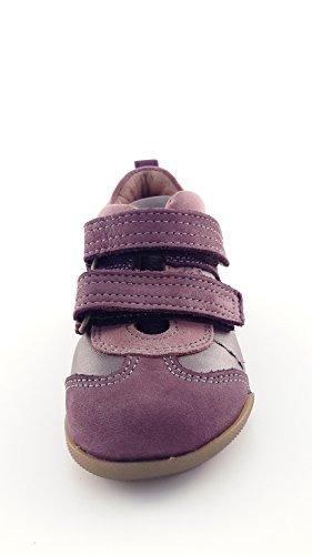 BARABEO , Chaussures premiers pas pour bébé (fille) rose Wine
