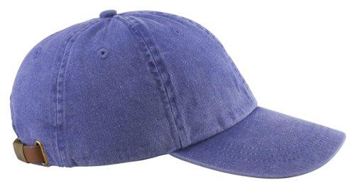 Adams Optimum Pigment Dyed Twill Cap (Purple) (All)