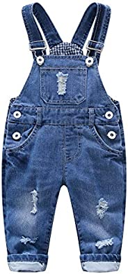 Kidscool Baby & Toddler Adjustable Ripped Fashion Jeans Over