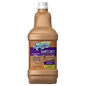 Swiffer WetJet Multi-purpose Floor Cleaner Solution Refill Wood 1.25L (Pack of 6)