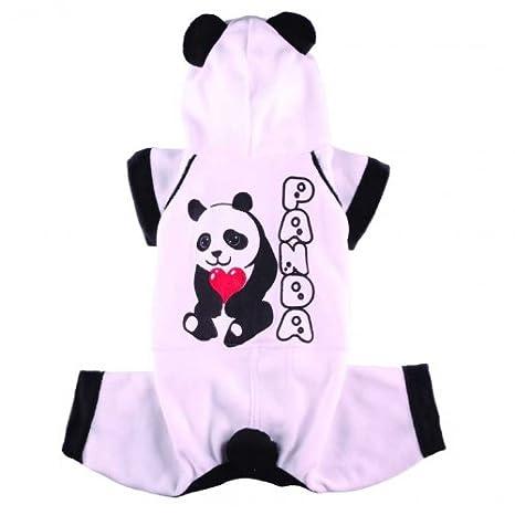 Perros de forro polar Traje Panda de Doggy Dolly: Amazon.es ...