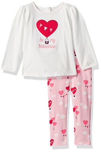 Gymboree Baby Heart Balloon Set  Jet Ivory  3 6