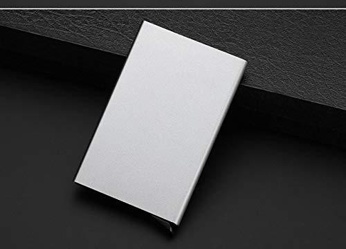 Monaco Life Fashion Function Aluminum Card Case Automatic Pop Up Business Card Holder Men Metal Credit Passport Card Bag ID Card Wallet - 2