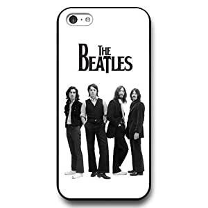 MMZ DIY PHONE CASEUniqueBox - Customized Black Hard Plastic ipod touch 5 Case, Popular Band The Beatles ipod touch 5 case